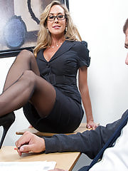 Sexy Secretary, Brandi Love was my personal Earliest Fuck Teacher